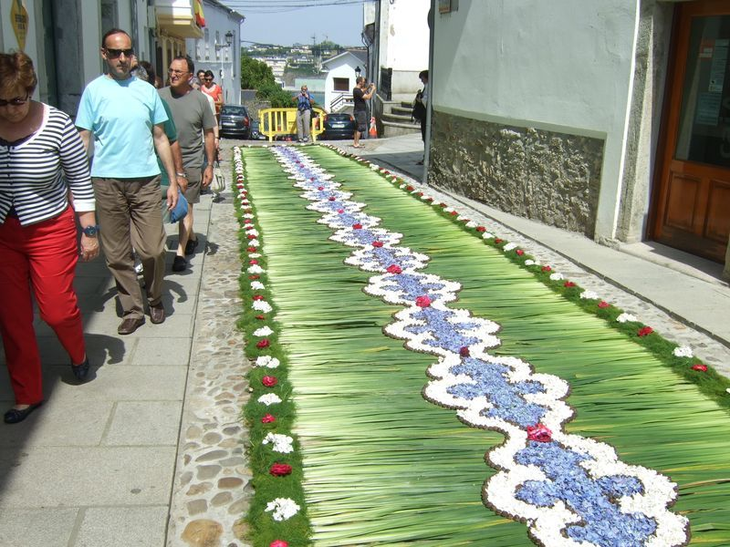 Corpus christi flower carpets corpus pinterest - Alfombras toledo ...