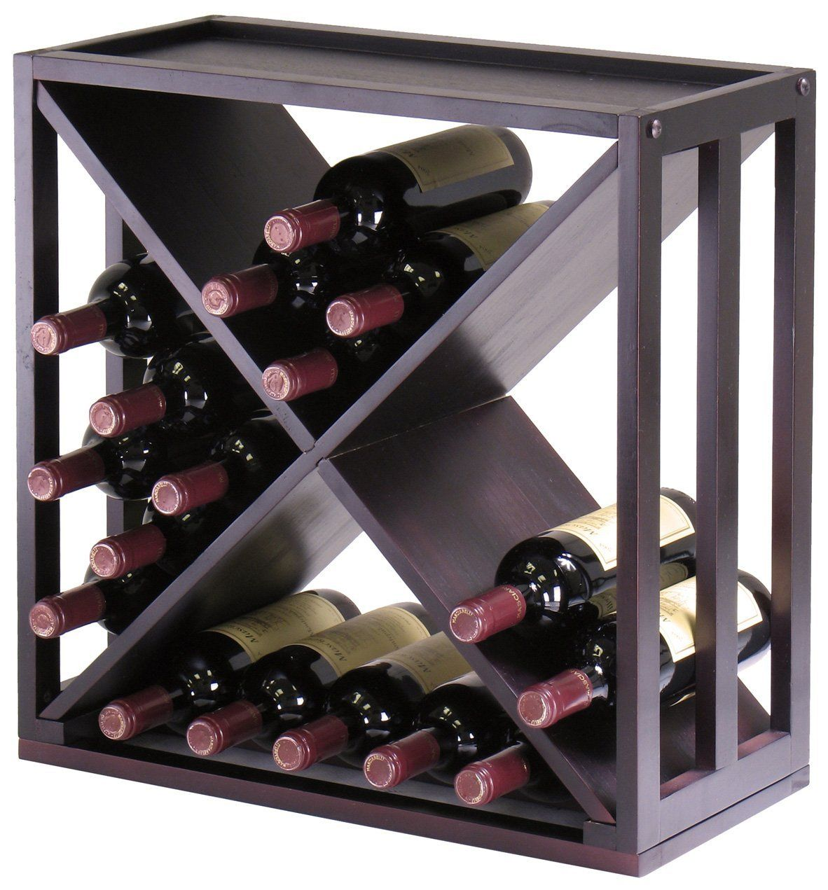 stacking wine picture np bamboo rack amazon stackable bottle shown vert products lipper in international racks