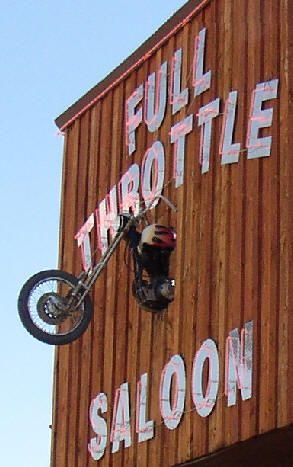 Full Throttle Saloon, Sturgis, South Dakota- want to go there!