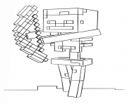 Minecraft Skeleton With Bow Coloring Minecraft Skeleton Minecraft Coloring Pages Coloring Pages