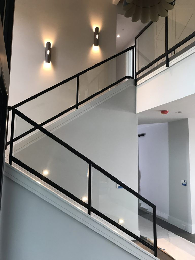 Interior Glass Stair Railing - OT Glass #staircaserailings