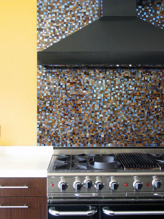 Home Color Combination Providing More Attractive Image: Exquisite Solana Glen Kitchen Design Mosaic Backspash Solana Glen
