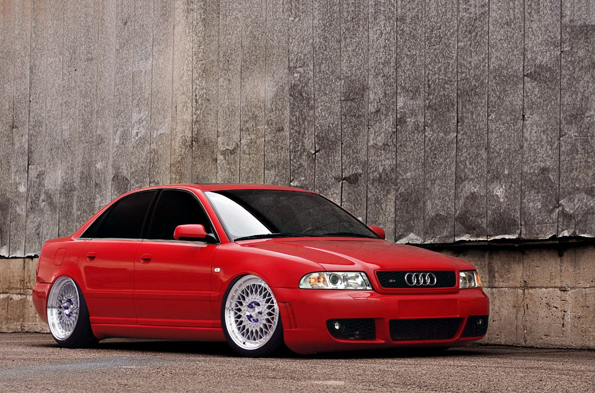 Audi s4 in ispiri csr3 wheels stance low photoshoped