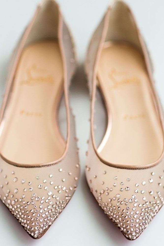 bce2d0ed2a942 Wedding Flats Your Friends Will Envy | Shoes | Bride flats, Fall ...