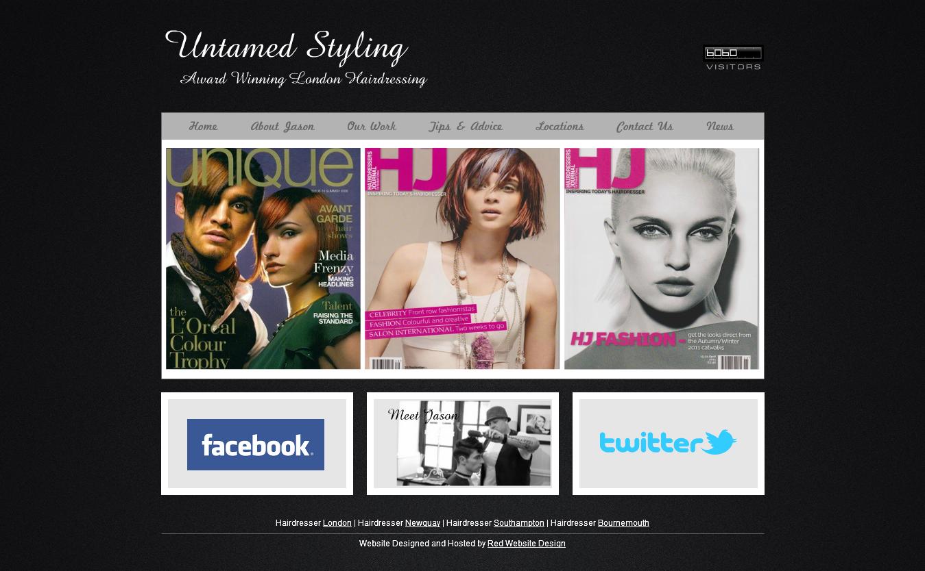 Untamed Styling Website Design Winning London Web Design Company