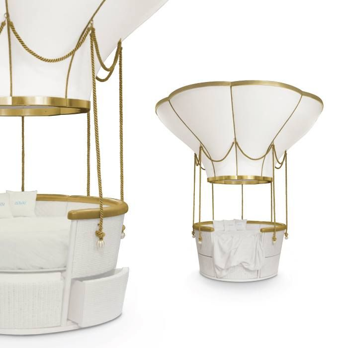 fantasy air balloon is a stunning piece designed by circu a bed