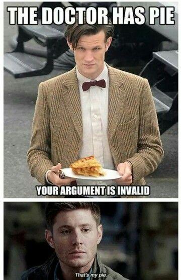 #supernatural #doctorwho #funny #geek