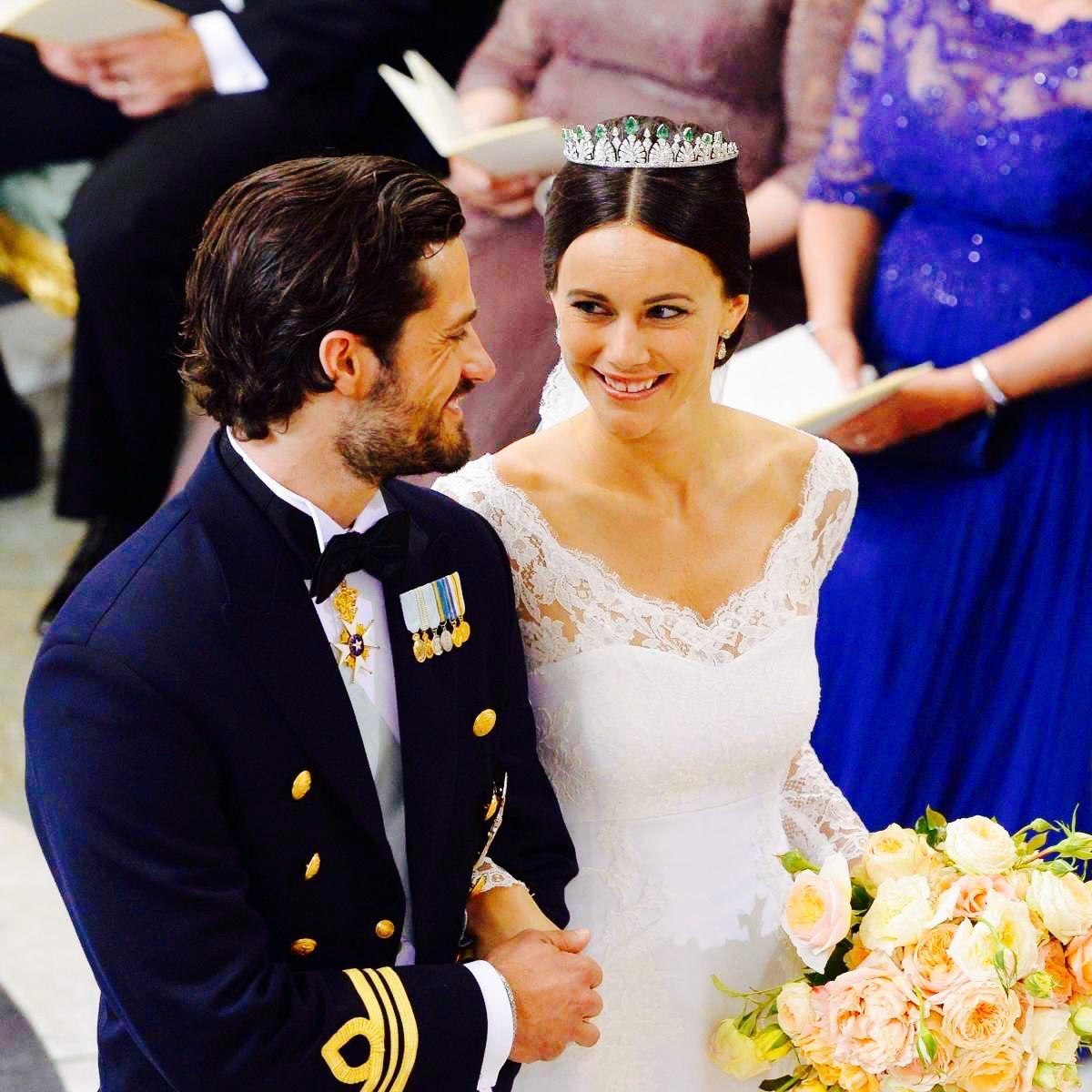 Quiet As A Shadow Royal Wedding Dress Prince Carl Philip Gorgeous Wedding Dress [ 1200 x 1200 Pixel ]