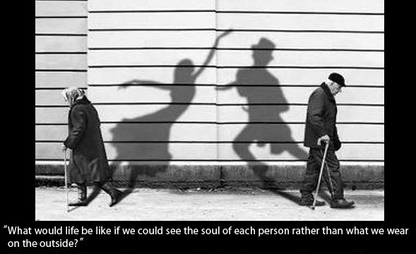 the soul never grows old.