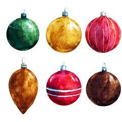 Raster christmas decorations
