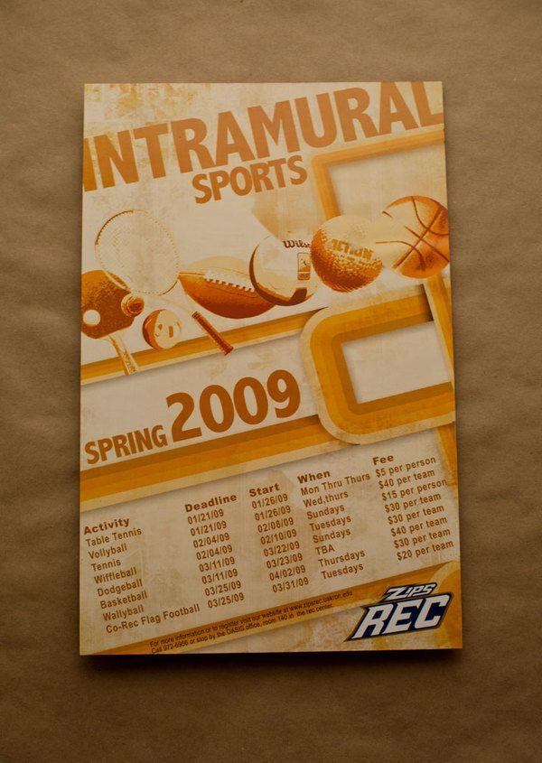 Intramural sports poster on behance student activities pinterest intramural sports poster on behance stopboris Gallery