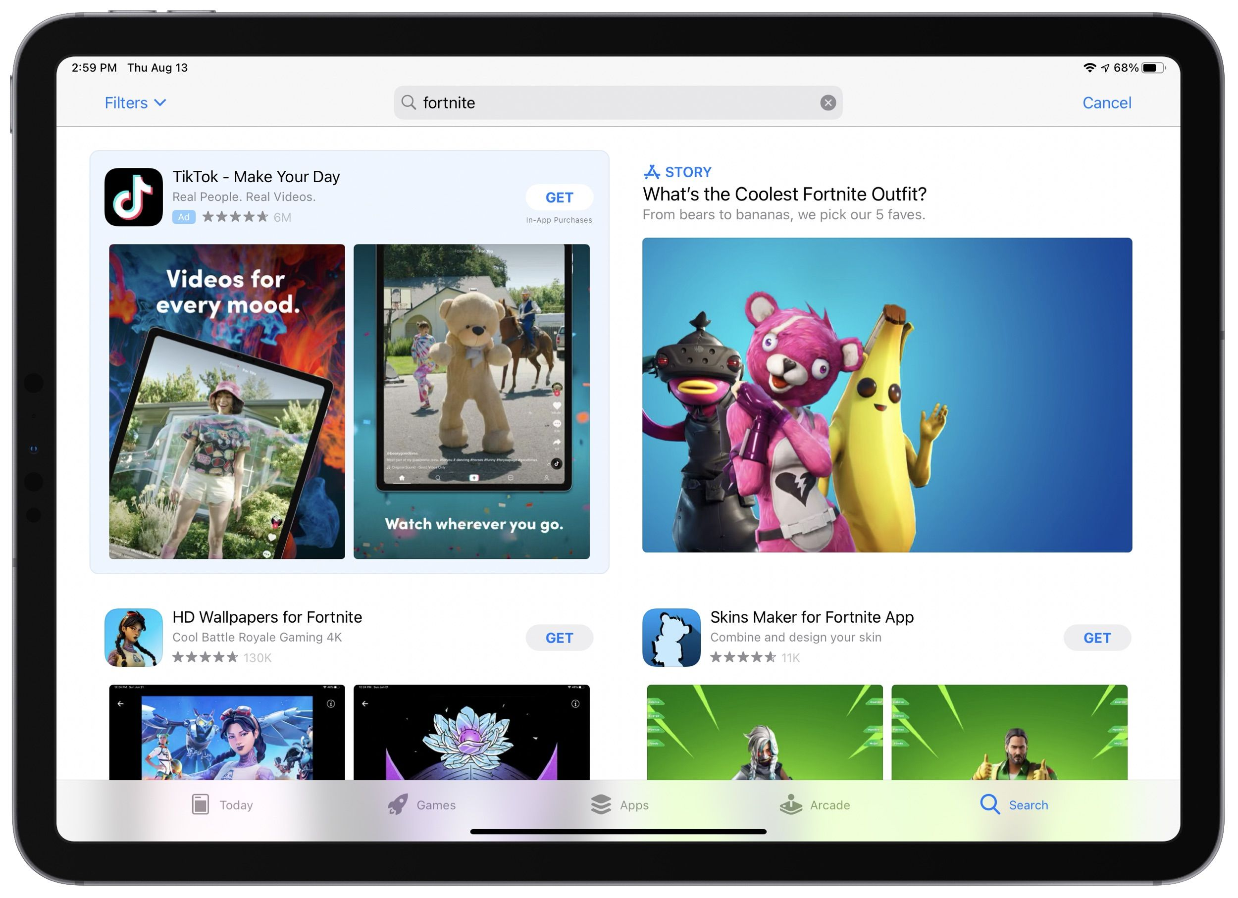 News App Apple Apple Removes Fortnite From App Store Update Epic Files Lawsuit Against Apple In 2020 App Store Epic Fortnite