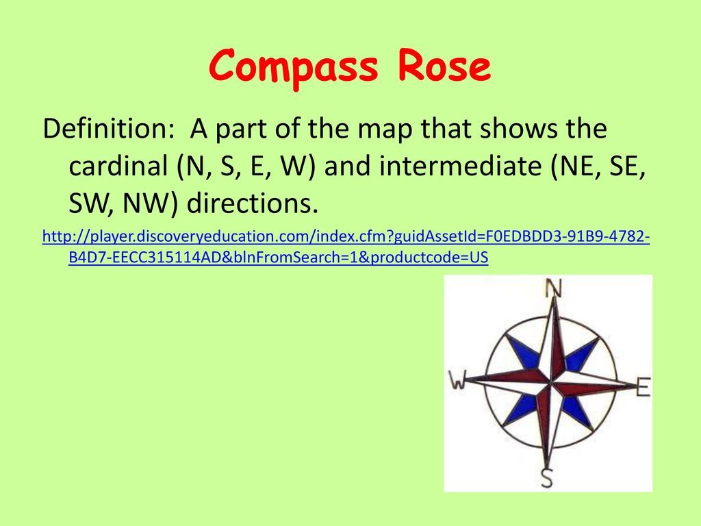 Image Result For What Is A Compass Rose Definition