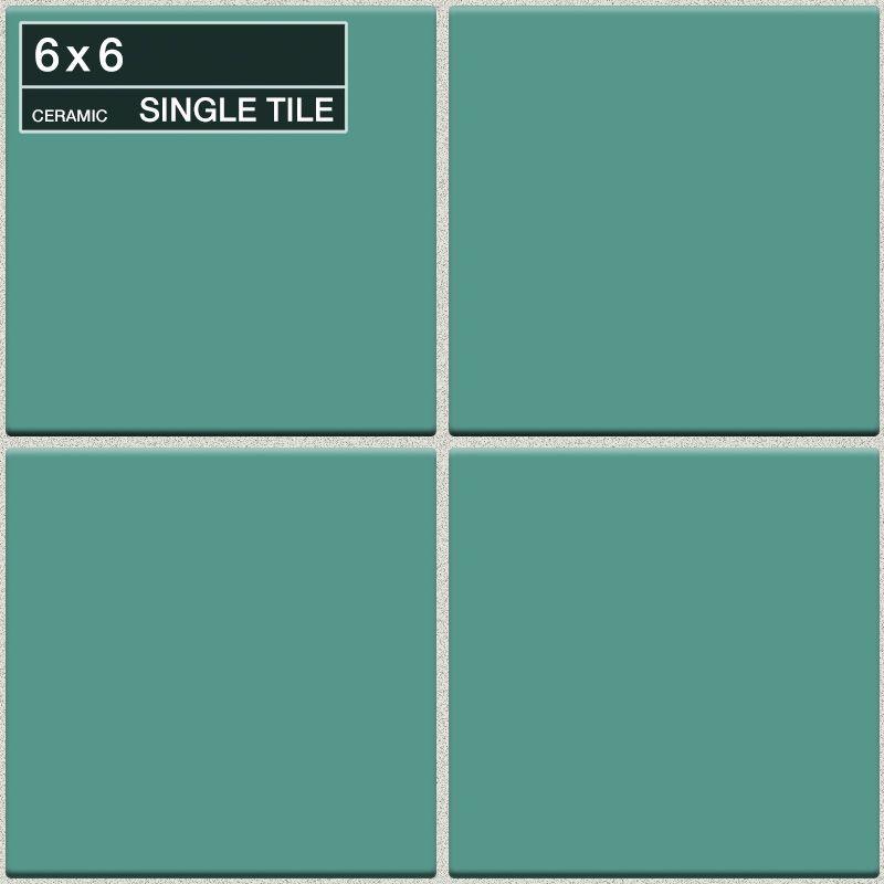 "Daltile QF55-661P Festiva Bermuda 6"" x 6"" Glazed Stone Multi-Surface Tile Bermuda Tile Multi-Surface Tile Field Tile"