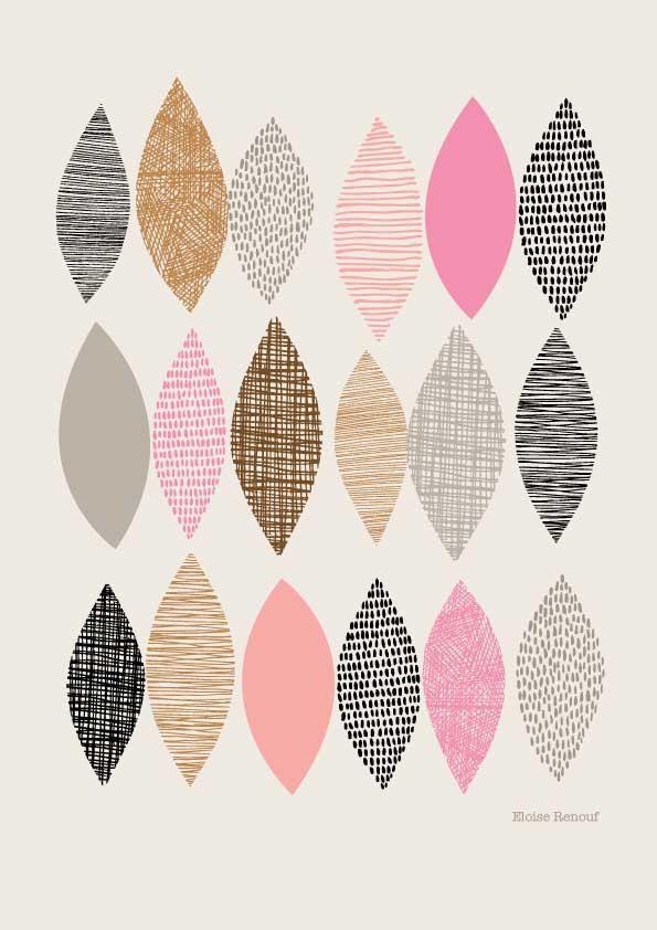 Spring Sampler No1, Open edition giclee print Eloise Renouf