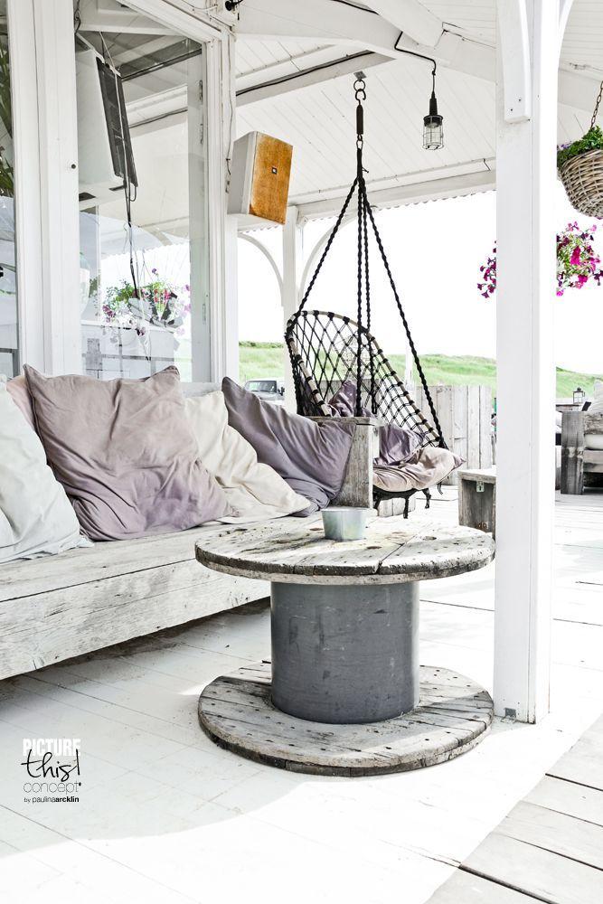 De Beach Look in jouw interieur | Balkon, Wohnen und Ideen