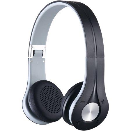 31903c53260 BEM Wireless EV-300 Bluetooth Over-the-Ear Headphones, Black ...