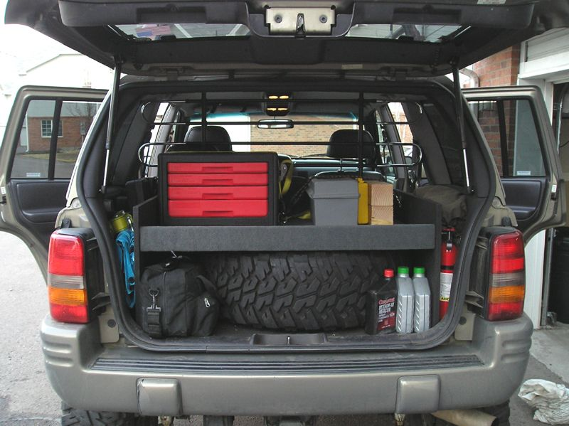 Great Storage Idea For The Zj Jeep Zj Jeep Wj Jeep Grand Cherokee Zj
