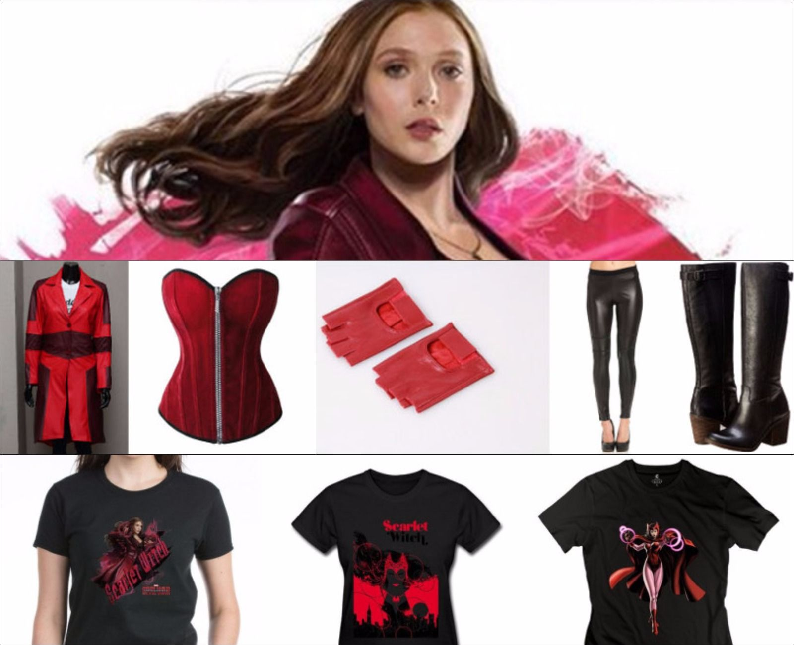 Scarlet Witch Civil War Costume Guide | Captain america civil war ...