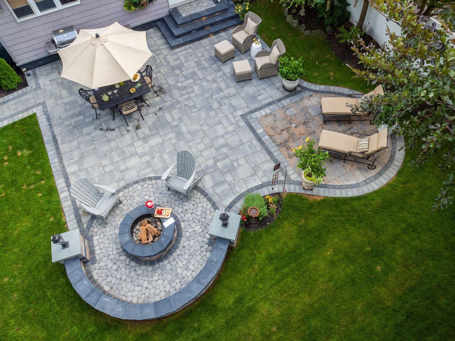 Backyard Landscaping Transformation - Discover This ... on Hhh Outdoor Living id=96261