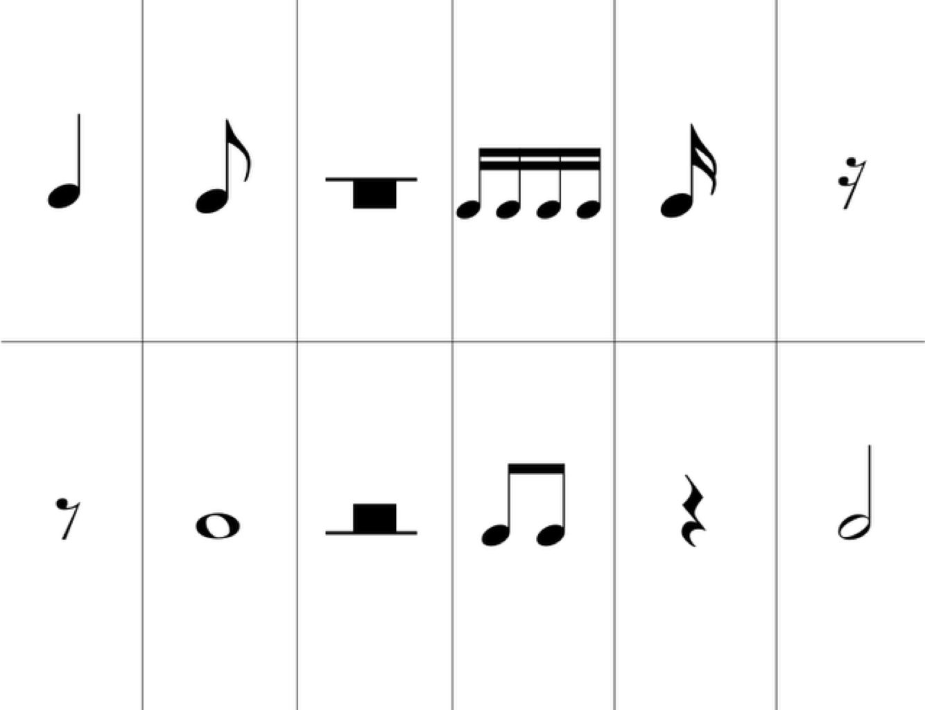 It is a graphic of Astounding Piano Note Flashcards Printable