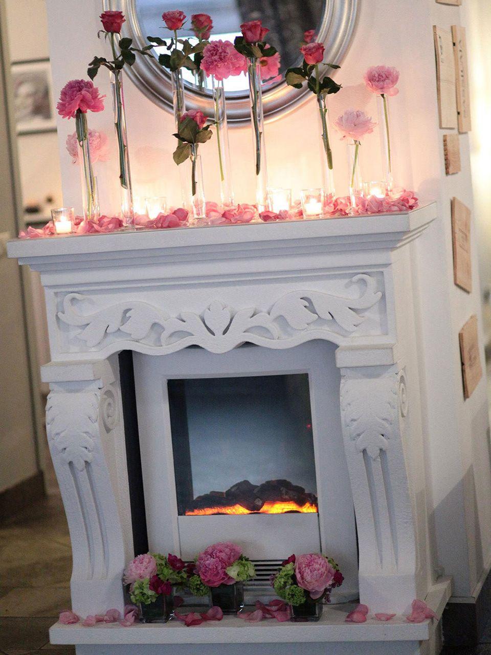 faux fireplace finto camino imperiale con camino elettrico