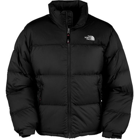 cae9a1fd4 Mens The North Face Down Jacket All Black | Clothing in 2019 ...