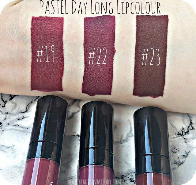 Beauty In Melody Pastel Daylong Kissproof Likit Rujlar 19 22
