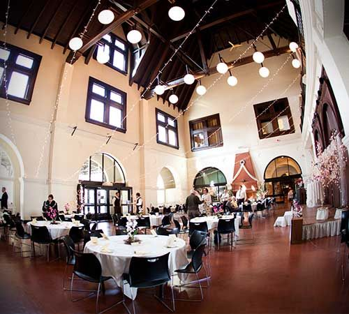 Minnesota Wedding Ceremony Locations: Great Hall Duluth Depot