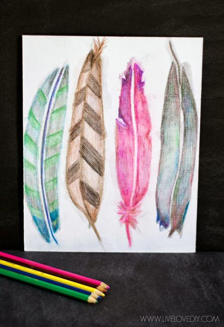 How To Use Watercolor Pencils Aka My Favorite New Way To Make Art