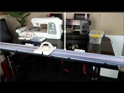 EXTENDING THE LK150 K360 KNITTING MACHINE   Machine knitting ...