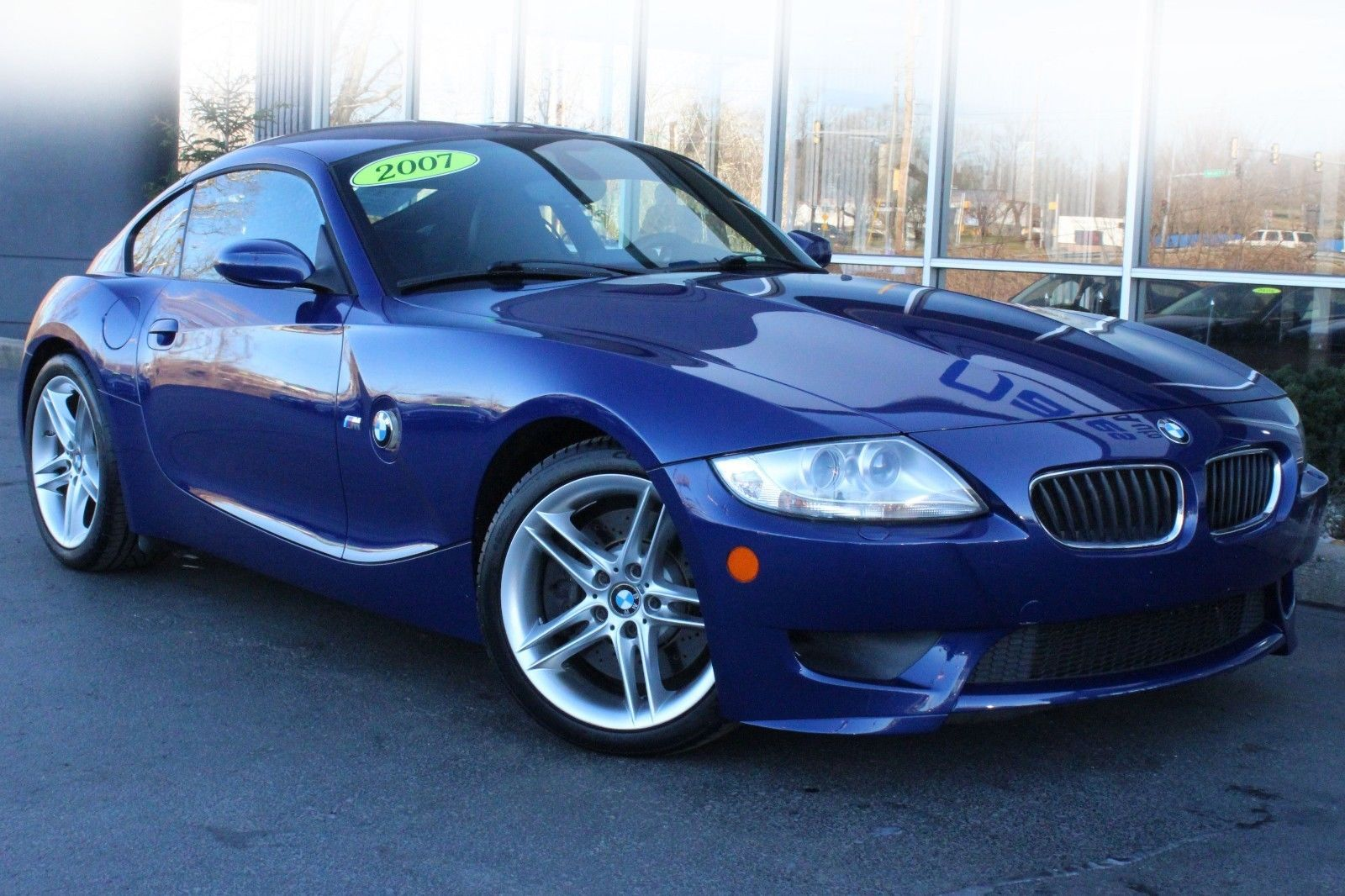 2007 BMW Z4 M Coupe Interlagos Blue Black Navigation Manual Transmission  Heated Leather Seats