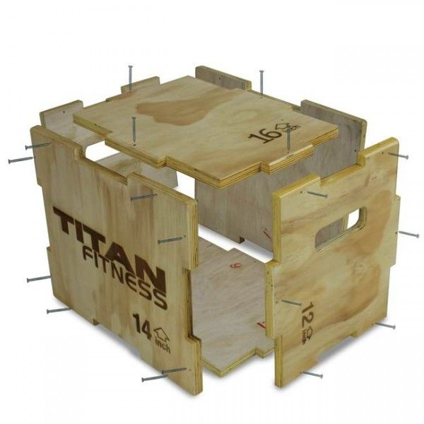 3 In 1 Wooden Plyometric Box 12 14 16 Projects To Try Plyo