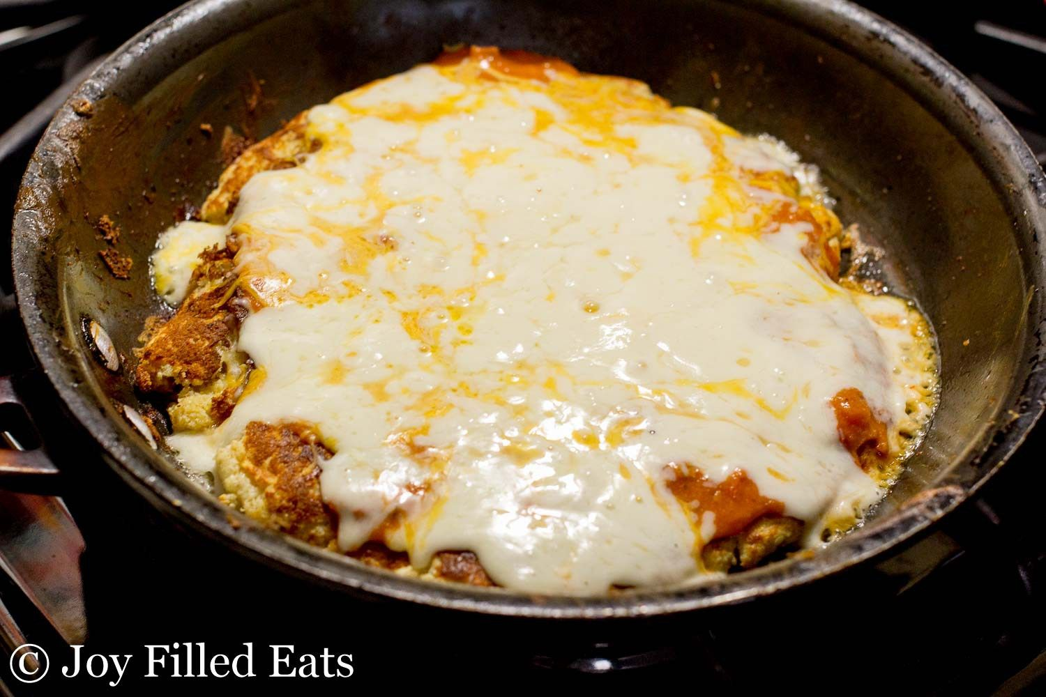 Low Carb Skillet Pizza Grain Free Thm S What Do You Do When It