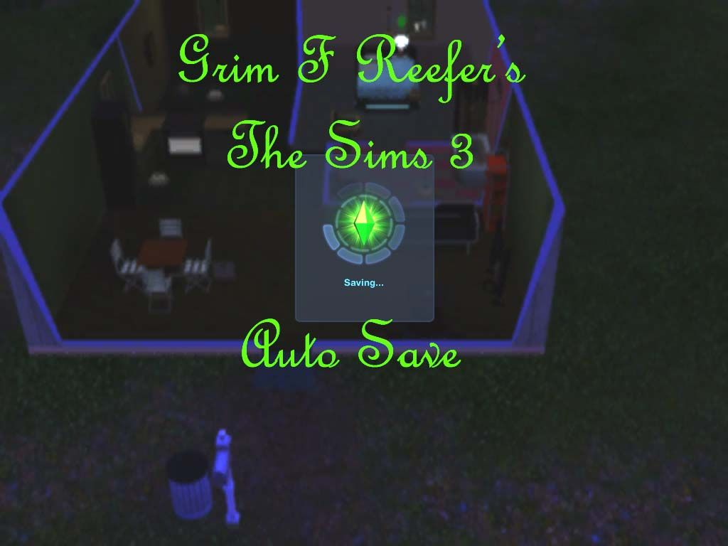 Mod The Sims - Grim's The Sims 3 Auto Save (non-core/in-game