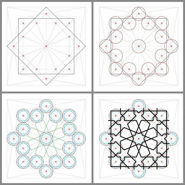 Instagram Photo By Sheroart Via Ink361 Com Islamic Art Pattern Islamic Patterns Geometric Drawing
