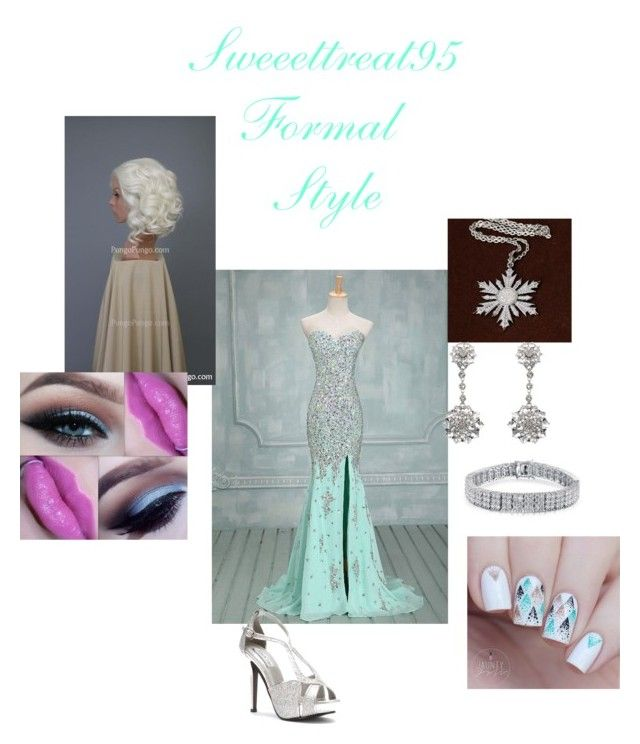 Formal Wear. by sweeettreat95 on Polyvore featuring polyvore fashion style Touch Ups Once Upon a Time Bling Jewelry Oscar de la Renta clothing