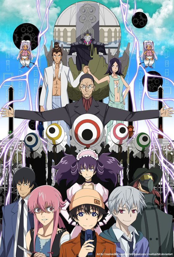 The True Power Of Obsessive Love Mirai Nikki Review