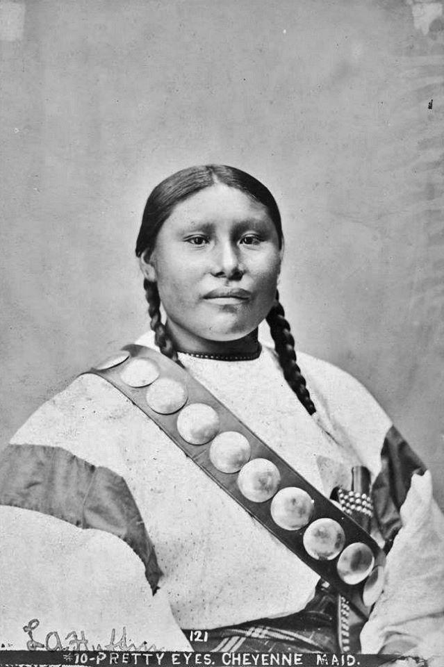 Hunting Indians Buffalo Cheyenne
