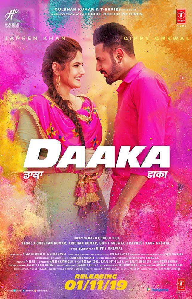 Daaka 2019 Punjabi Movie DVDScr 700MB Full movies