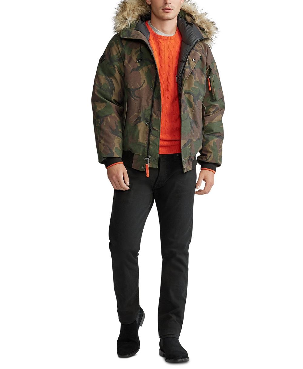 Polo Ralph Lauren Men S Faux Fur Trim Down Bomber Jacket Reviews Coats Jackets Men Macy S Bomber Jacket Polo Ralph Lauren Mens Jackets [ 1219 x 1000 Pixel ]