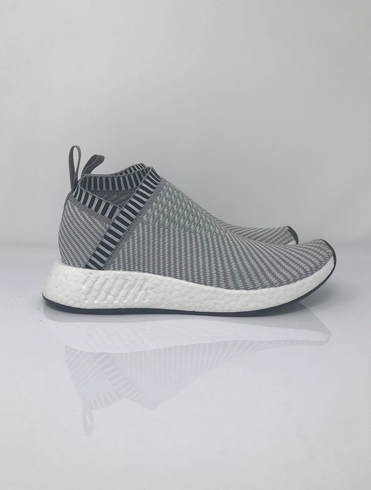 432c545aed1 adidas Originals NMD CS2 Primeknit GREY SIZE 8 9.5 10 CONDITION NO BOX   fashion  clothing  shoes  accessories  mensshoes  athleticshoes (ebay link)