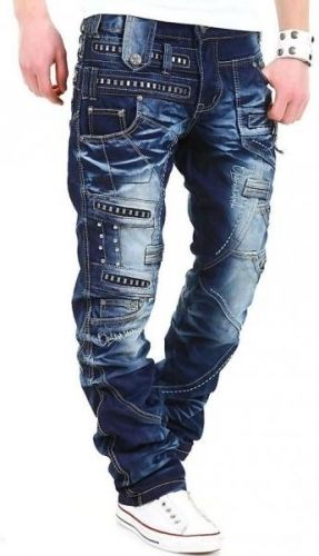 Japrag Jeans Venom - Denim Blue Moda Steampunk, Pantalones De Mezclilla,  Moda Casual Masculina b880c9608f