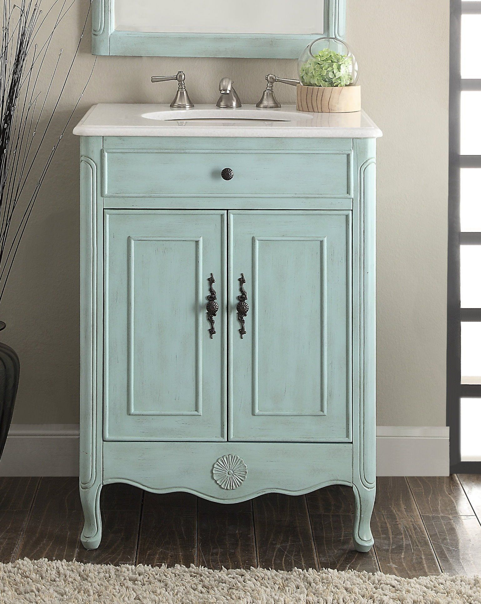 P Chans Furniture 838lb 26 Inch Cottage Style 2 Doors Daleville