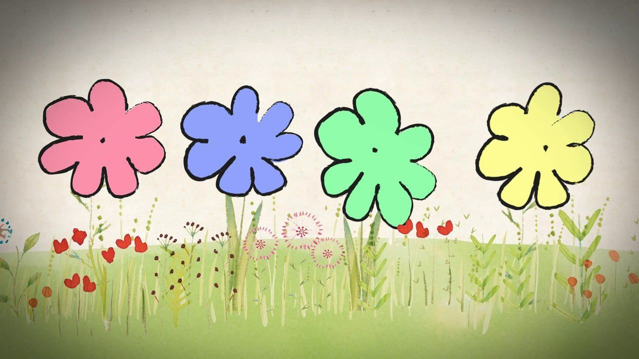 Cantando Nacen Flores Dibujo Ritmico Spanish Songs Simple Pictures Learning Spanish