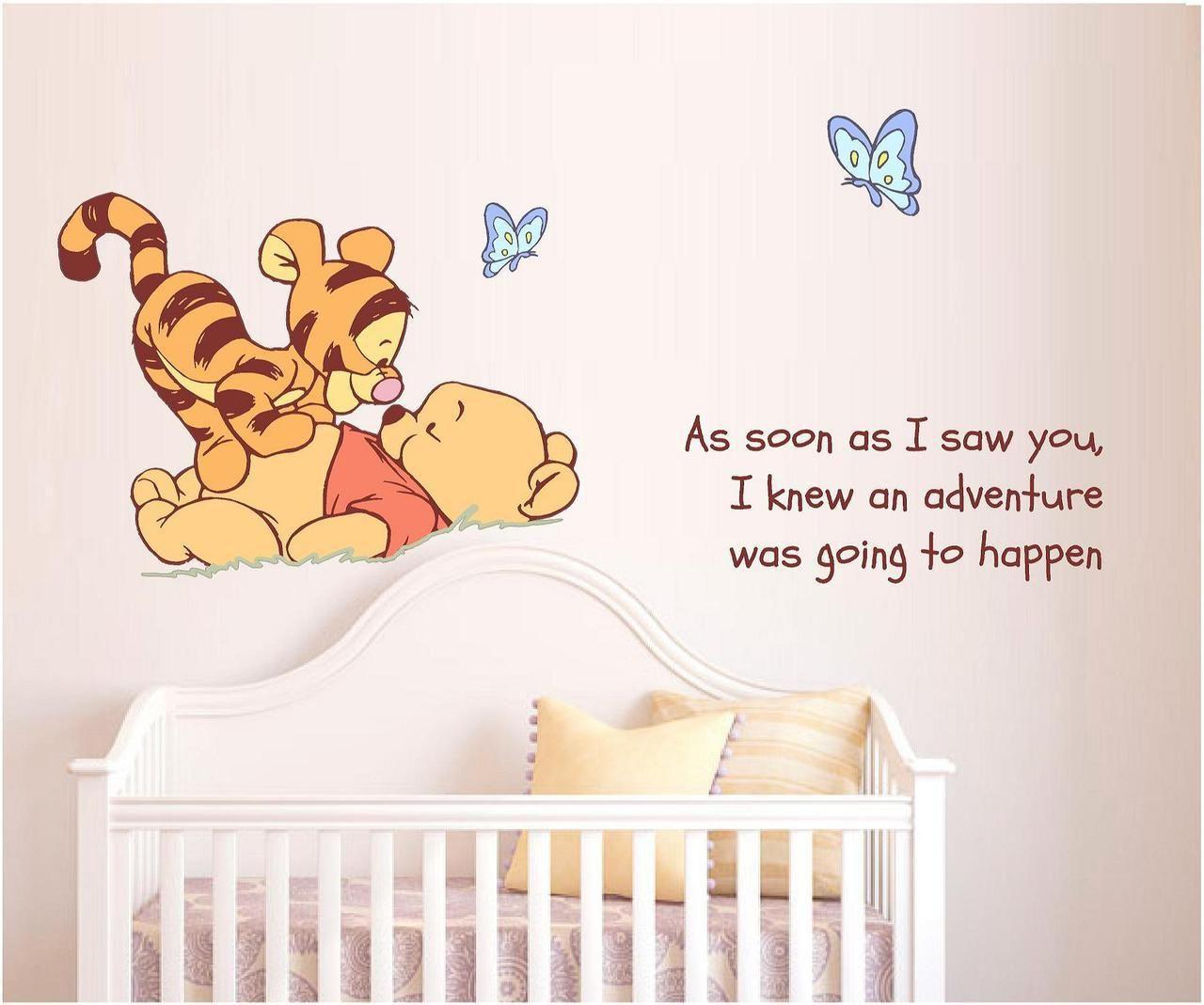 Winnie The Pooh Tigger As Soon As I Saw You Winnie The Pooh Nursery Winnie The Pooh Nursery Twins