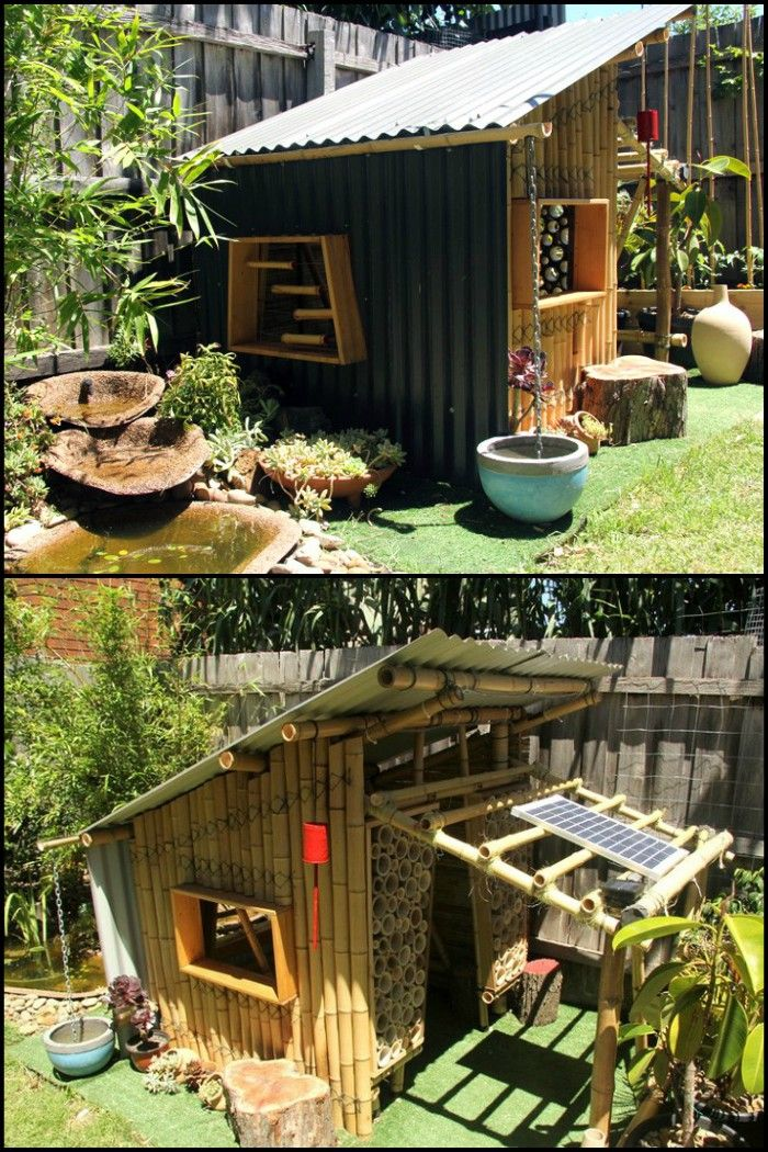 Build Your Own Bamboo Cubby | build me | Bamboo building