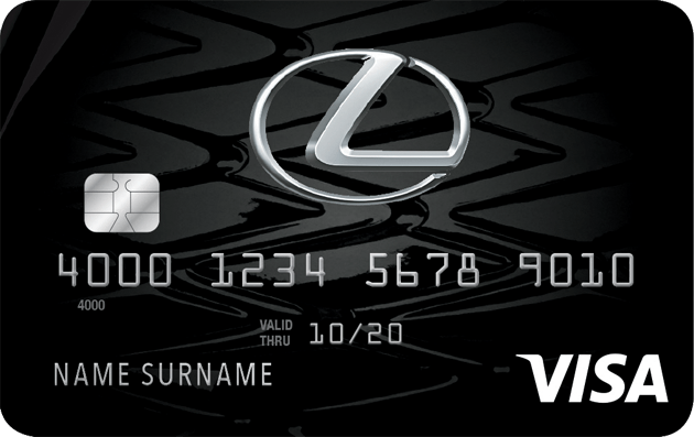 Lexus Pursuit Visa Credit Card Visa Credit Card Credit Card App Credit Card