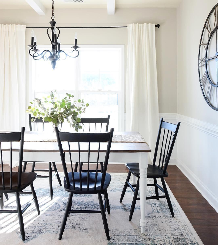 48 Farmhouse Dining Room Design Ideas Farmhouse