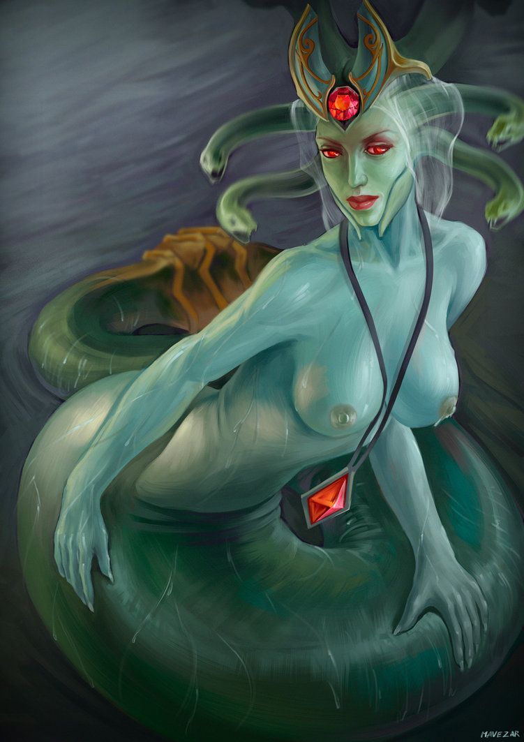 Medusa by Mavezar